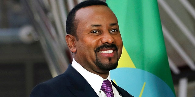 In this Thursday, Jan. 24, 2019 file photo, Ethiopian Prime Minister Abiy Ahmed at the European Council headquarters in Brussels. The 2019 Nobel Peace Prize was given to Ethiopian Prime Minister Abiy Ahmed on Friday Oct. 11, 2019.