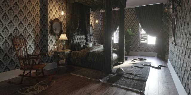 The ghoulish palace rents for $101.10 per night, in honor of the new animated movie's release date on Oct. 11.