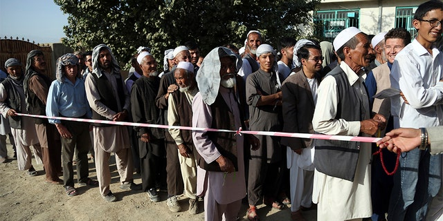 Westlake Legal Group afghanistan-elections Taliban insurgents kill 11 police officers during attack on Afghan government building, officials say Greg Norman fox-news/world/terrorism fox-news/world/conflicts/afghanistan fox news fnc/world fnc article 47ba8e10-254c-5e20-aebc-ee60626c4c05