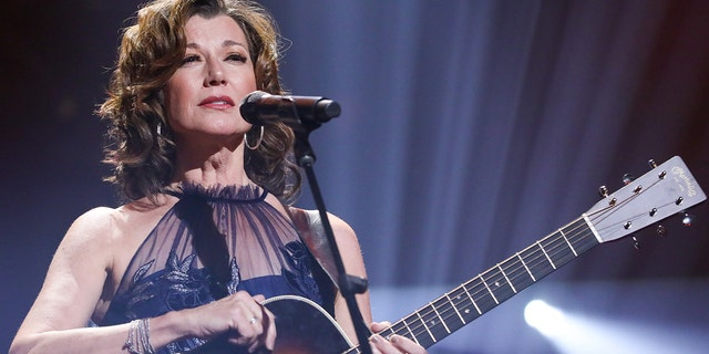 Amy Grant performs during the Icon Performance at the 50th Annual GMA Dove Awards.