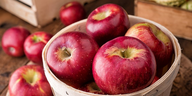 The apples were sold in eight states, the FDA said.