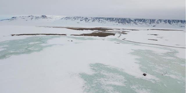 The Zackenberg valley in Northeast Greenland, summer 2018.