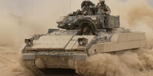 U.S. Army Bradley fighting vehicle