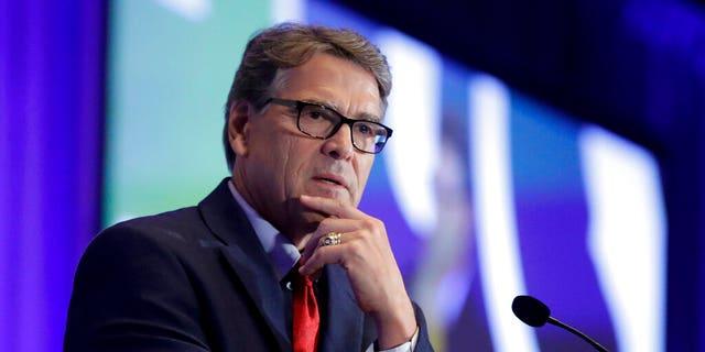 FILE - IEnergy Secretary Rick Perry. (AP Photo/Chris Carlson, File)