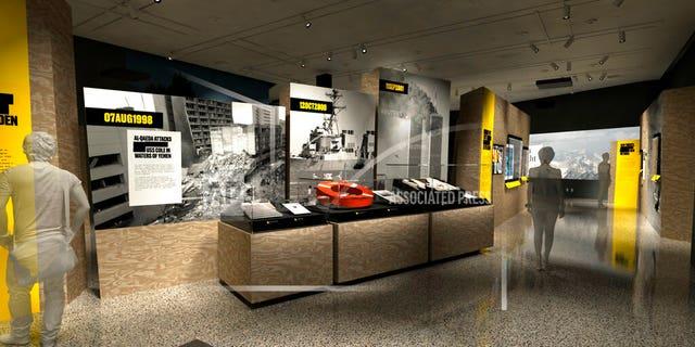 """Revealed: The Hunt for bin Laden"" exhibit<br> (C&amp;G Partners via AP)"