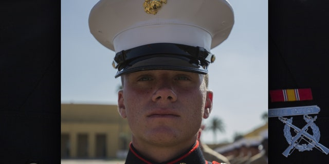 Pfc. Brendan Bialy completed Marine Corps boot camp last month.