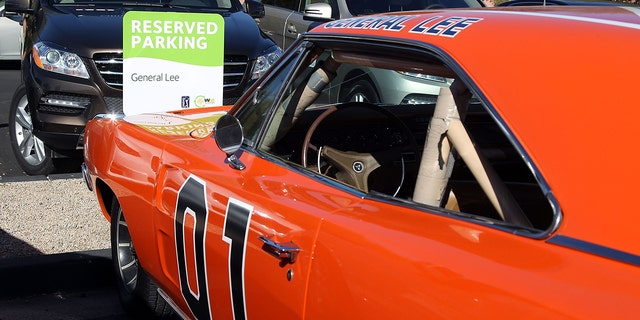Watson's General Lee seen parked at the TPC Scottsdale golf club near where he lives in 2012.