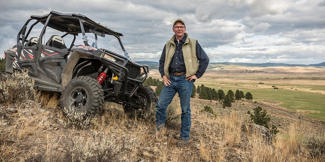 Marshall, pictured on his ranch inBurns, Ore., believes a cult is behind the bull deaths. He doesn't think the killings were done to financially harm the ranch. (David Zaitz/Silvies Valley Ranch via AP) File
