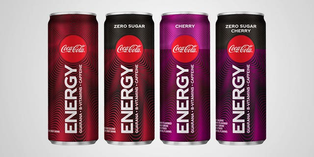 """The drinks, which will be available in the U.S. starting in January 2020, will come in four varieties, including original, cherry, and """"zero sugar"""" versions of each."""