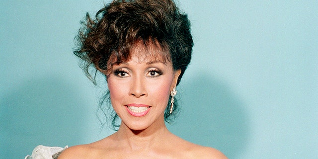 This Sept. 20, 1987 file photo shows actress Diahann Carroll at the Emmy Awards in Los Angeles.