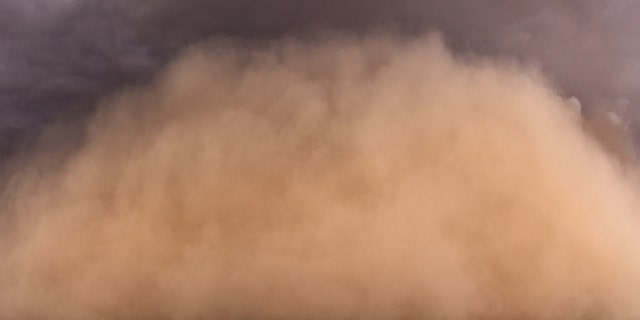 File photo: Dust storm panorama in the Arizona desert during the monsoon. (iStock)