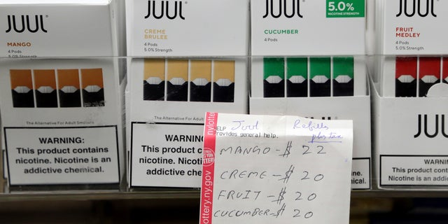 Juul halts sale of flavored products nationwide pending FDA review