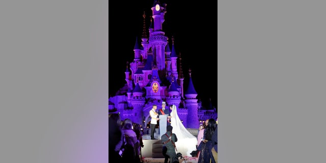"""Varun Bhanot, 29, and Anisha Seth, 29, tied the knot in a spectacular two-day bash that they hoped would feel like """"Bollywood meets Disney."""""""