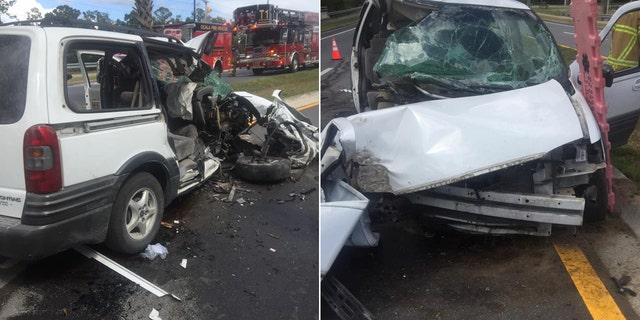 Westlake Legal Group florida_crash Florida woman drives car into tree after telling four kids to remove seat belts: 'The devil can't hurt you' Paulina Dedaj fox-news/us/us-regions/southeast/florida fox-news/us/crime fox news fnc/us fnc article 209220a1-91aa-5f2f-996b-a0f5ce868e13