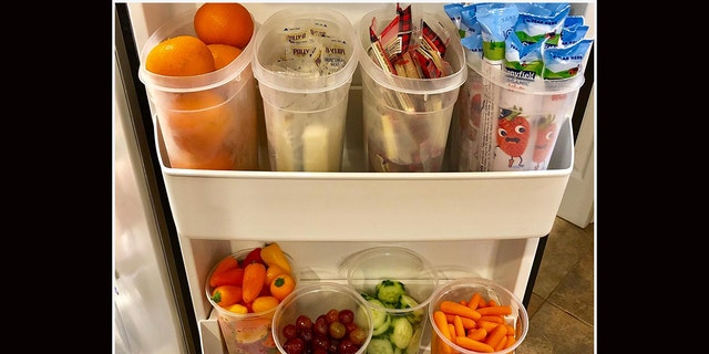 """There's apparently no such thing as being """"too prepared"""" in all matters of meal prep, as evidenced by the thunderous applause one New York woman's super-simple fridge organization hack has received on Facebook."""