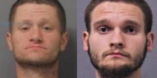 Jarrett W. Gause, left, and Justin L. Gause, each face a charge of second-degree murder in the death of their 82-year-old grandmother.