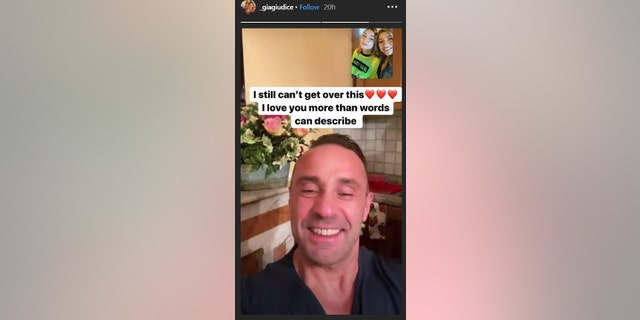 Gia Giudice shared a photo her dad, Joe, on Instagram Story.