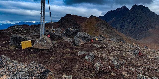Gold Star Peak in Alaska. (Keith Sherman)