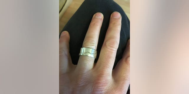 The ring slipped off Dan Levine's finger after he went for a swim in the ocean. The man shared that he usually takes the ring off before going in, but had forgotten this time.