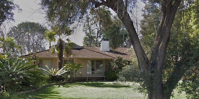 """The four-bedroom, four-bath home where """"The Golden Girls"""" was filmed."""
