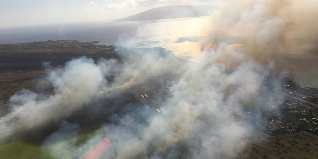 An airport in Hawaii reopened early this morning after a brush fire tore through at least 964 acres of land yesterday, prompting officials to close and evacuate the air hub on Tuesday afternoon.
