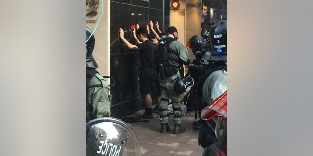 Protesters make the police responsible for the escalating violence. Officials have denied permission for peaceful rallies and forced activists into violence.