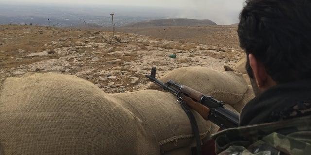 Kurdish fighters in northern Iraq, Nov. 2016. (Fox News)