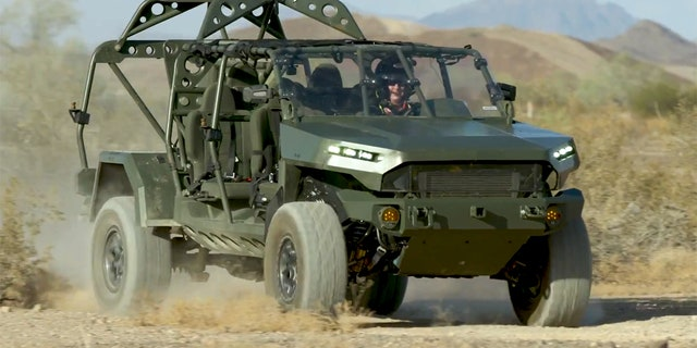Westlake Legal Group isv4 Chevrolet Colorado ZR2-based Infantry Squad Vehicle looks to enlist in US Army Gary Gastelu fox-news/us/personal-freedoms/proud-american fox-news/us/military fox-news/tech/topics/us-army fox-news/auto/style/suv fox-news/auto/style/pickups fox-news/auto/make/general-motors fox-news/auto/make/chevrolet fox-news/auto/attributes/off-road fox-news/auto/attributes/custom fox news fnc/auto fnc c4e5ef66-7b6e-57be-b8f8-784f843e1887 article