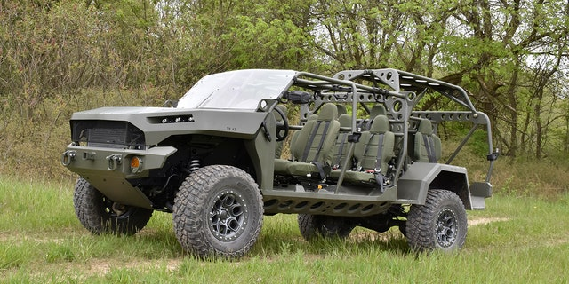 Westlake Legal Group isv6 Chevrolet Colorado ZR2-based Infantry Squad Vehicle looks to enlist in US Army Gary Gastelu fox-news/us/personal-freedoms/proud-american fox-news/us/military fox-news/tech/topics/us-army fox-news/auto/style/suv fox-news/auto/style/pickups fox-news/auto/make/general-motors fox-news/auto/make/chevrolet fox-news/auto/attributes/off-road fox-news/auto/attributes/custom fox news fnc/auto fnc c4e5ef66-7b6e-57be-b8f8-784f843e1887 article