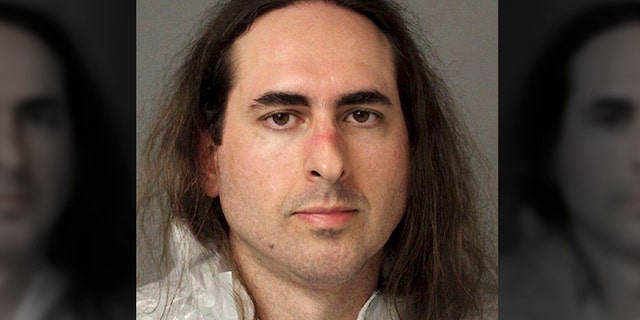 Jarrod Ramos is charged with five counts of murder for entering the Capital Gazette in Annapolis with a pump-action shotgun and opening fire on June 28, 2018.(Anne Arundel Police via AP, File)
