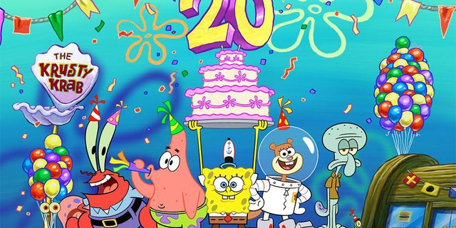 'SpongeBob SquarePants' has been on the air for over 20 years.