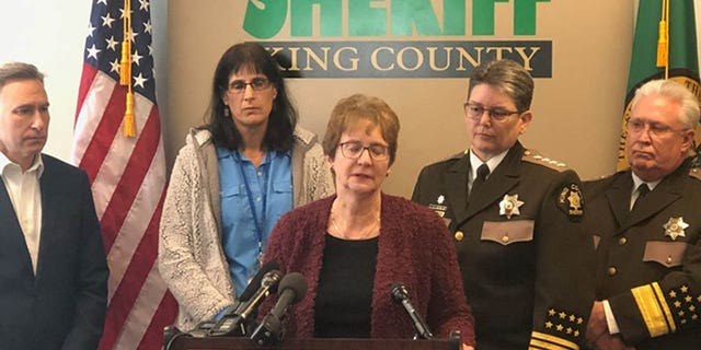 Laura Yarborough told a news conference on Thursday that detectives never gave up trying to solve her daughter's murder, even when she had given up at times.<br><br>