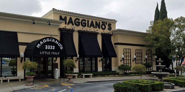 On Oct. 5, around 1:30 p.m., Passion Shenay Coleman and Laglennda Damona Carr allegedly entered the Maggiano's Little Italy in Costa Mesa, pictured, before wreaking havoc.