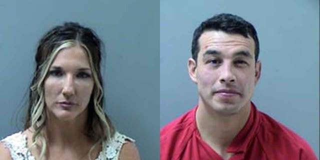 Westlake Legal Group mugshot-split Arizona bride, groom arrested in wedding-day assault on cops, police say Stephen Sorace fox-news/us/us-regions/southwest/arizona fox-news/us/crime fox news fnc/us fnc bcc25bd1-f5ff-596a-877e-daea956ee21e article
