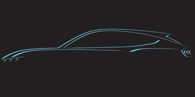 Westlake Legal Group mustange Electric Ford 'Mustang' SUV teaser sketch released ahead of Nov. 17 reveal Gary Gastelu fox-news/auto/style/suv fox-news/auto/make/ford fox-news/auto/attributes/performance fox-news/auto/attributes/electric fox news fnc/auto fnc b3a191f4-a22c-5756-b786-9965dae8a4d1 article