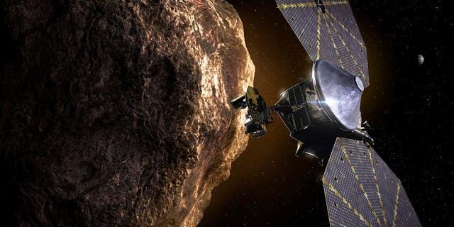 Artist rendering courtesy of NASA.