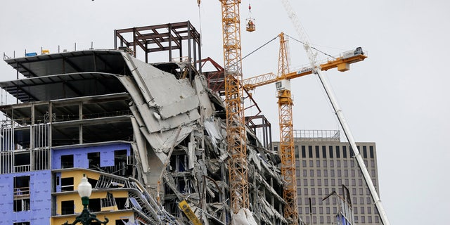 Three workers were killed in the partial collapse of the Hard Rock Hotel in New Orleans earlier this month.