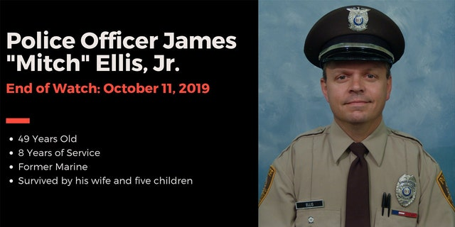"James ""Mitch"" Ellis Jr., 49, an officer with the St. Louis County Police Department, was killed after he was involved in a three-vehicle crash in Illinois last Thursday, police said."