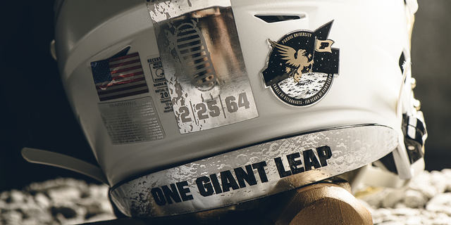 Westlake Legal Group purduesports1 Purdue honors Apollo 11 with Moon-themed helmets for homecoming game James Rogers fox-news/us/personal-freedoms/proud-american fox-news/topic/apollo-11 fox-news/science/air-and-space/spaceflight fox-news/science/air-and-space/nasa fox-news/science/air-and-space/moon fox news fnc/science fnc b4734600-61a4-5666-b21a-66d8899ed29e article