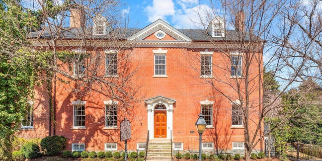 Built in 1795, the historic home is backon the marketfor $5.6 million. It wasavailablelast year for $8.5 million.