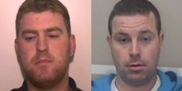 Ronan Hughes, 40, and his 34-year-old brother Christopher Hughes are wanted on suspicion of manslaughter and human trafficking, Essex Police said Tuesday.