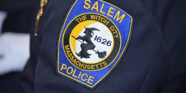 A man was captured in Salem, Mass., early Wednesday after police say he tried to run over two officers.