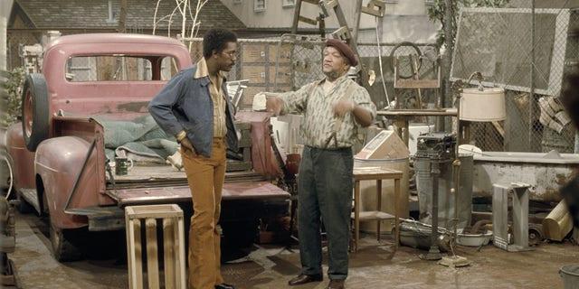Sanford and Son starred Demond Wilson and Redd Foxx.