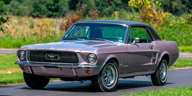 Westlake Legal Group she8 Rare 'She Country' Ford Mustang designed for women up for auction Gary Gastelu fox-news/auto/make/ford fox-news/auto/attributes/custom fox-news/auto/attributes/collector-cars fox news fnc/auto fnc ccaf695b-28f6-5c06-bbc5-f89cdbff53dc article