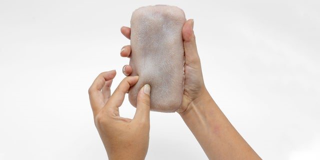 These creepy artificial skin cases makes phones pinchable, ticklish