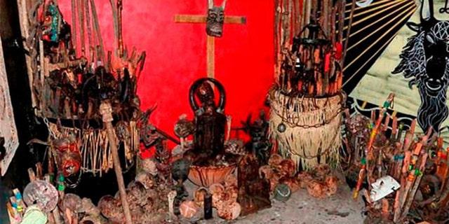 Mexico City investigates 42 skulls in drug lair