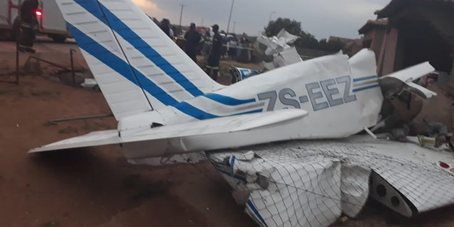 A 30-year-old pilot died at the scene, police said.