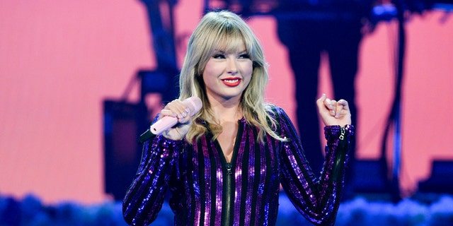 Taylor Swift performed at Amazon Music's Prime Day concert in New York. Swift will be honored with the award for Artist of the Decade at this year's American Music Awards. (Photo by Evan Agostini/Invision/AP, File)