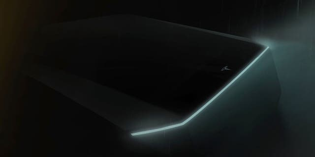 This teaser image previews the styling of the truck.