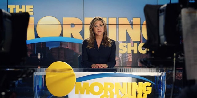 "Jennifer Aniston in ""The Morning Show"""